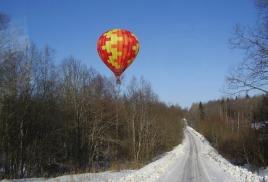 Воздушный шар-полеты